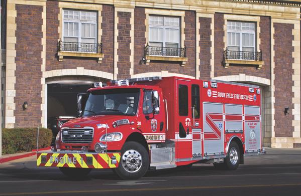 South Dakota Wheels For Firefighters