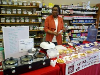 Angelique Mills brought Gramma's Delicacies to Rapid City's <a href='http://www.themainstreetmarket.com' target='_blank'>Main Street Market</a> last year.