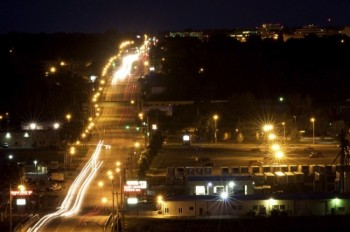 Cliff Avenue in Sioux Falls on a summer night in 2011.