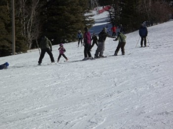 A Midwestern family passing skiing traditions to the next generation.