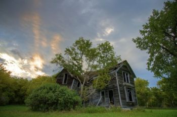 This old house was found north of Milbank.