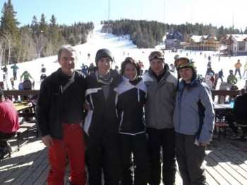 Most of the Schoenbeck Family Skiers.