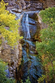 Bridal Veil Falls in Spearfish Canyon is a well-known spot to tourists.