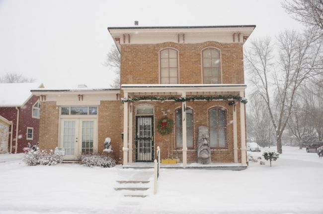 South Dakota Magazine is headquartered at the Pennington House, an old Dakota Territory governor s house built in 1875 at the corner of Third and Pearl in downtown Yankton.