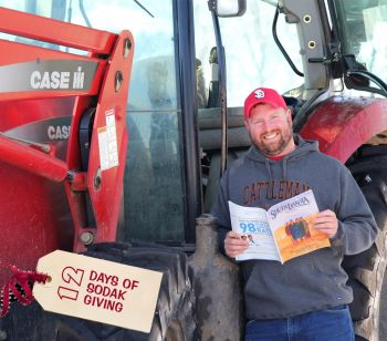 Day 2: Farmers! South Dakota Magazine's stories have a timeless quality, so even if planting and harvest seasons are too busy for reading, those issues will still be worth picking up during the winter. Plus, don't some tractors drive themselves nowadays?