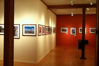 Dacotah Prairie Museum's Lamont Gallery features local and regional artists. Photo by Rebecca Johnson.