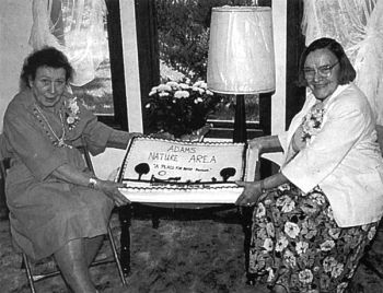 Though Maud (left) died in 1995, her presence lingers on the place her family called home for more than a century.