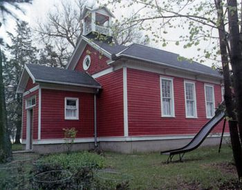 A country school from Union County and its original slide, a favorite of visiting children, were added to the site.