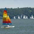 Photographer Chad Coppess (SD Tourism) visited Yankton last weekend to photograph the annual sailing regatta named  Bash to the Colonies.