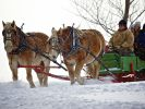 Sleigh rides at Fort Sisseton State Park s Frontier Christmas.