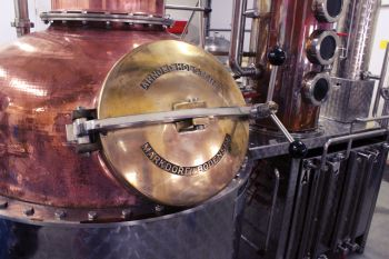 South Dakota's natural resources become smooth spirits inside the Rounds family's distillery near Pierre.