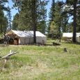 No campers allowed! The Muzzle Loaders of the Black Hills do their camping in canvas tents.