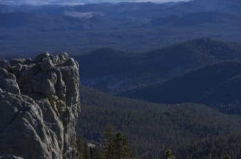 The Black Hills - known for gorgeous scenery, unpredictable weather and really big jacket pockets.