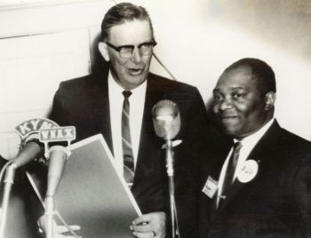 Gov. Archie Gubbrud recruited Ted Blakey to be a spokesperson for Civil Rights in South Dakota. Photo courtesy of Dakota Territorial Museum in Yankton.