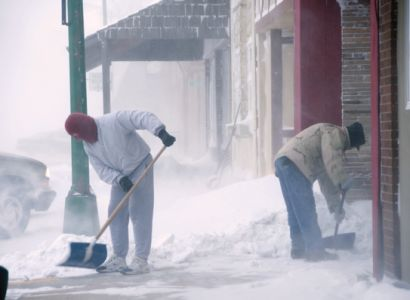 Digging out from a spring blizzard is almost a point of pride for Black Hills residents.