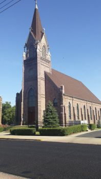 St. Mary's Catholic Church of Salem was built in 1886.