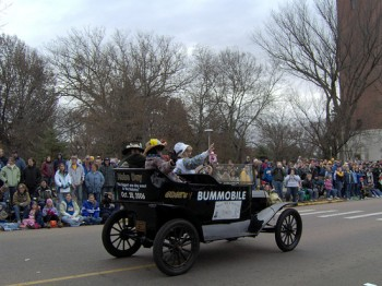 The Bummobile has chauffeured politicians and Hobo Day royalty through Brookings for over 70 years.