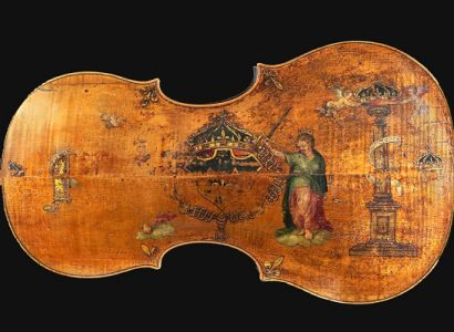 The Amati  King  cello, housed at the National Music Museum in Vermillion, dates to the mid-1500s. It rarely travels, but is spending the summer at The Metropolitan Museum of Art in New York City.