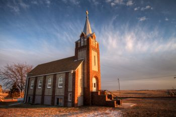 Martinus Lutheran Church northeast of Utica in Yankton County.