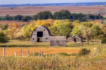 Abandoned in northern Marshall County.