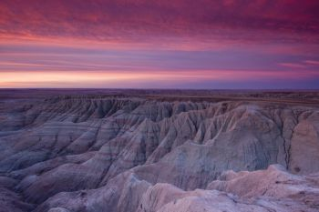 A million people visit the Badlands each year, but very few visit during the coldest months. The National Parks Service recommends dressing in layers, closely monitoring the weather and letting a friend know your travel plans.