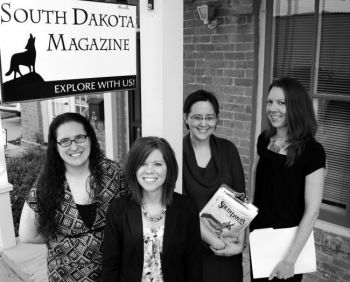 Our creative team includes (left to right): Andrea Maibaum, Heidi Marsh, Laura Andrews and Rebecca Johnson.