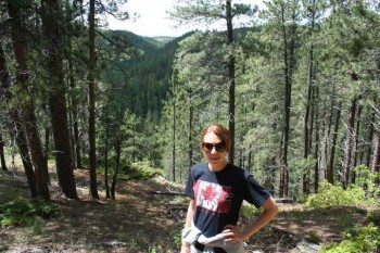 Hiking Crow Peak in the beautiful Black Hills.