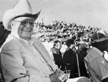 Rodeo founder E. W. Weisel bought the Crystal Springs Ranch in 1936 and staged his first rodeo in 1945.