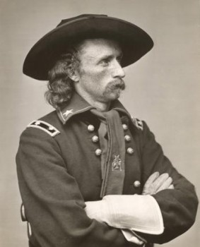 General Custer didn't leave any gold behind on his 1874 expedition to the Black Hills.