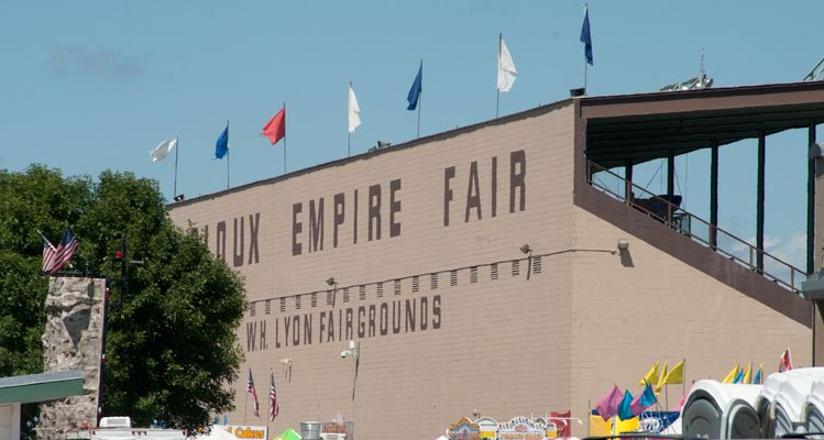 The Sioux Empire Fair is held at the W.H. Lyon Fairgrounds in Sioux Falls.