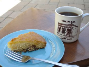 Swedish egg coffee and orange cake make a fine afternoon meal if you're a hungry Scandinavian farmer.