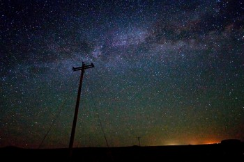 The Milky Way as seen near Oelrichs, SD in late June.