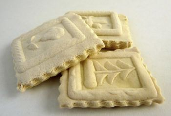 Springerle are a traditional German Christmas cookie with pictures pressed into the dough. Photo by Franz Muller.