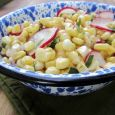 A fresh, crisp salad is a new way to enjoy sweet corn. Photo by Fran Hill.