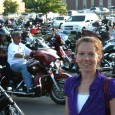Checking out Hot Harley Nights in Sioux Falls.