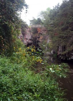 Where Jesse James may have jumped Split Rock Creek. Photo by Rebecca Johnson.