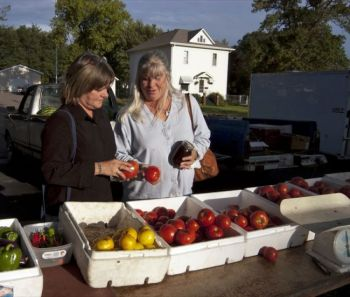 Eat local produce because it's full of flavor, not because of the supposed moral high ground it gives you. Photo by Bernie Hunhoff.