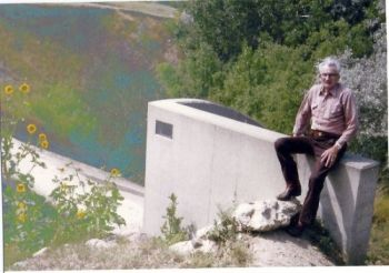 Leo Schoenbeck, Jr. visited Amsden Dam 50 years after the drownings.