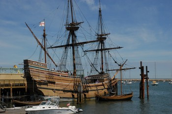 This photo of the Mayflower 2, a replica of the ship that brought the pilgrims to Plymouth, Mass., was taken by <a href='http://www.flickr.com/photos/adpowers/572756468/'>Andrew Hitchcock.</a>