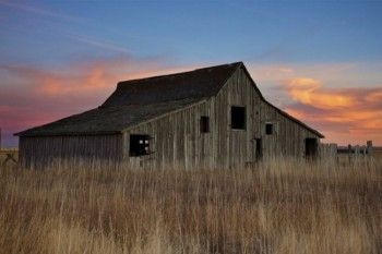 A rural Meade County barn in December 2011.