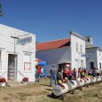 Glorious autumn weather mixed with the music, foods, antique machinery, exhibits and games, delighting the thousands who came to the pioneer town that has been constructed over the years.