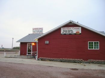 Get your tiger meat to go at Meridian Corner, located south of Freeman at the intersection of Highways 81 and 18.
