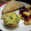 Mini zucchini frittatas are a nice, healthy surprise breakfast for anyone s mom. Photo by Fran Hill.