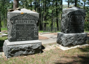 Graves adorned with Hebrew text mark Deadwood's rich Jewish history.