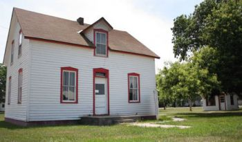 Geddes leaders hope to raise $40,000 to make repairs on Peter Norbeck's childhood home.
