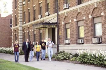 Northern State University in Aberdeen may soon be a smoke-free zone. Northern State University photo.