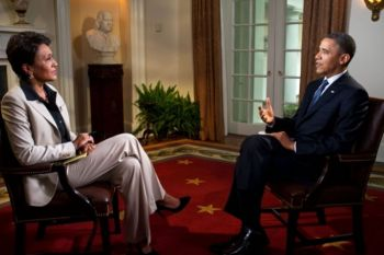 President Obama revealed his change in opinion on gay marriage in a May 9 interview with Robin Roberts of Good Morning America. Official White House photo by Pete Souza.