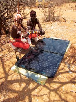 Solar generators produced in Sioux Falls have been used to power hospitals in Africa.