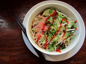 Pho, a rich Vietnamese soup, isn't on the menu at The Homesteader restaurant in Gregory, but locals know it's available for lunch.