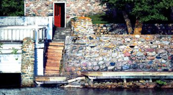Miotkes have built stone walls at Pickerel Lake for nearly 80 years.